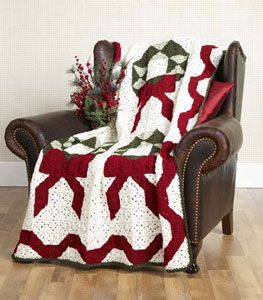 Crochet Wreaths Afghan Pattern | Free Patterns | Yarn ...