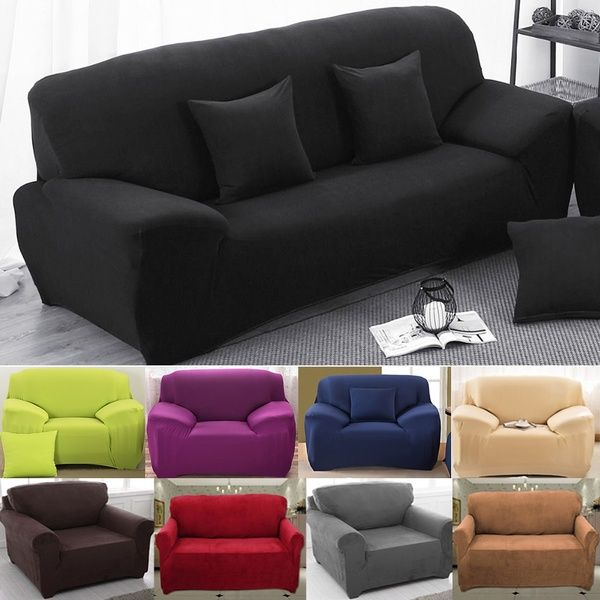 Amazing 1 2 3 4 Seater Sofa Couch Slipcover Stretch Covers Elastic Gmtry Best Dining Table And Chair Ideas Images Gmtryco