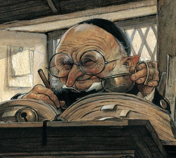 by Jean Baptiste Monge...his funny little creatures just make me smile