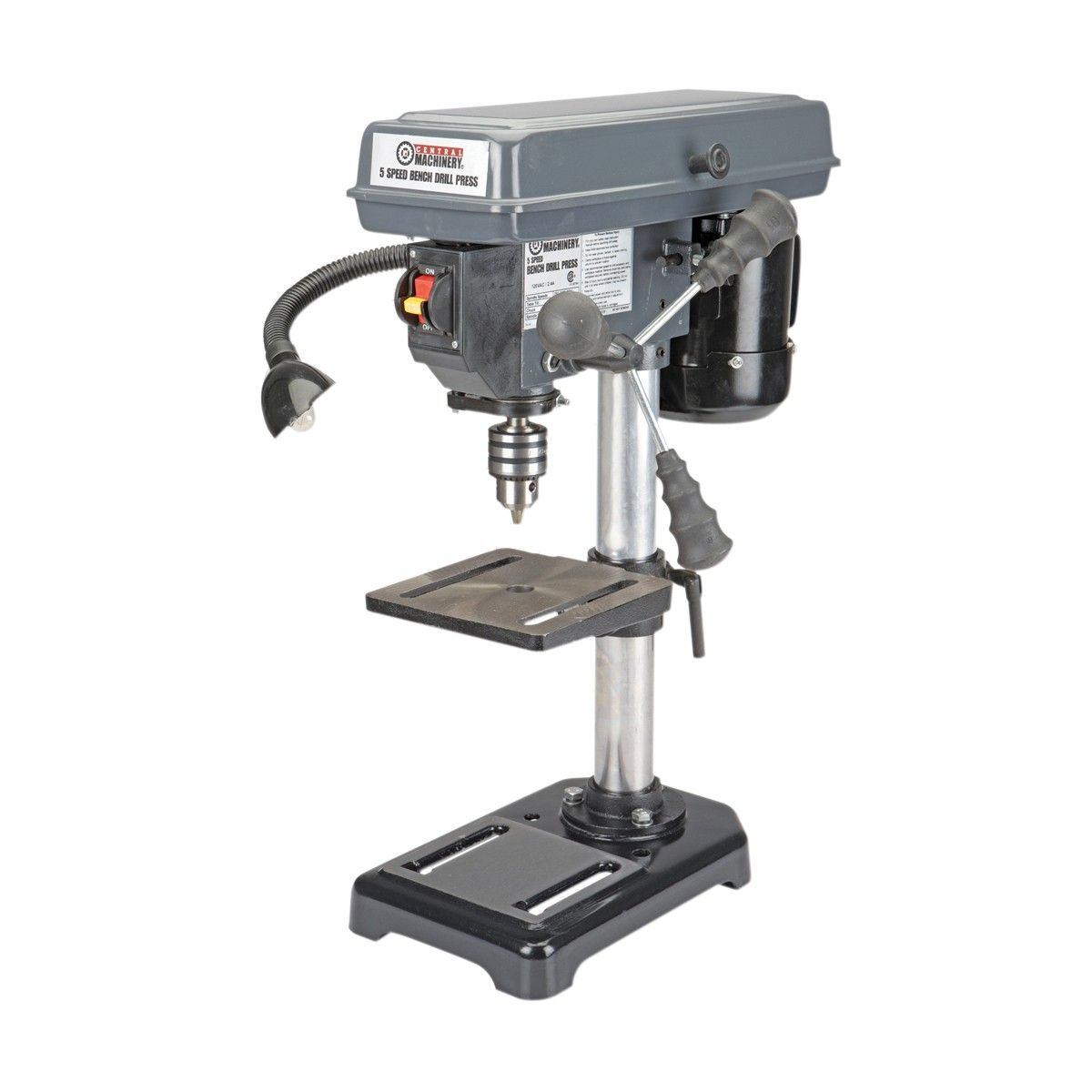 Benchtop Drill Press Pretty Damn Cheap Too And Harbor Freight