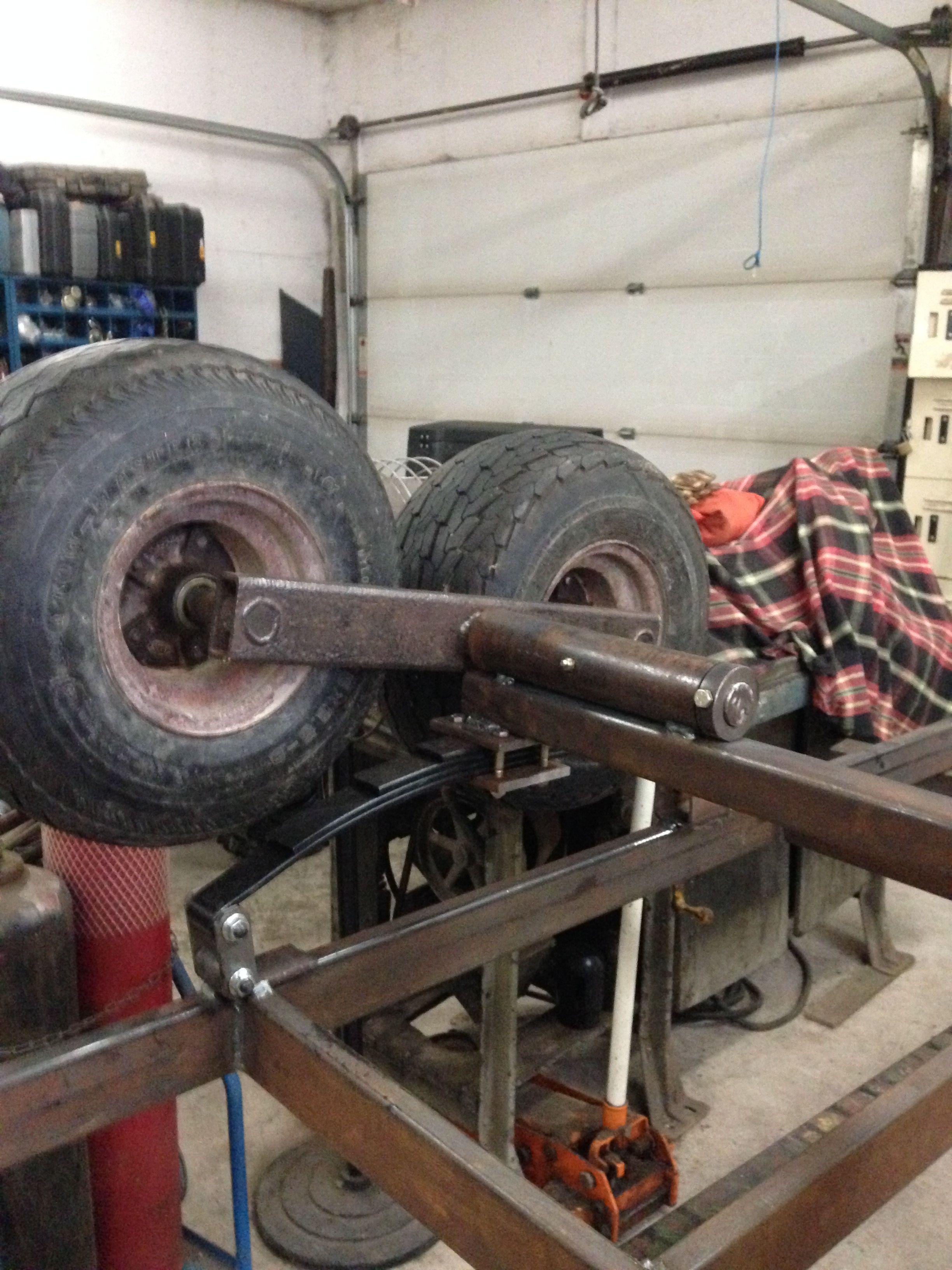 Tandem Axle Walking Beam Atv Trailers Quad Trailer Trailer Build