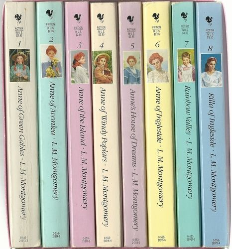 The Complete Anne Of Green Gables Boxed Set 8 Volumes L M