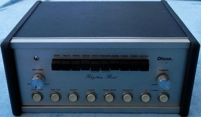 MATRIXSYNTH: OLSON X-100 RHYTHM BEAT Preset Drum Machine with T...