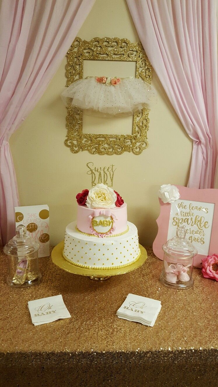 Pink and gold baby shower*Nini*
