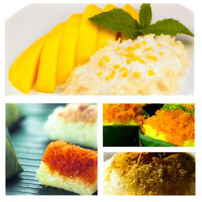 The interesting thing about Thailand.: rice Moon A delicious dessert ...