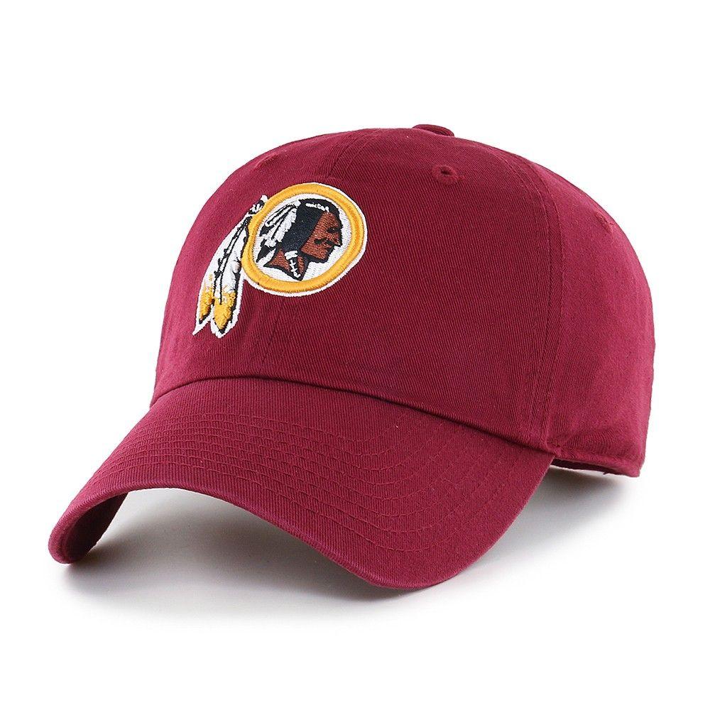 85a768c4 NFL Washington Redskins Clean Up Adjustable Cap/Hat by Fan Favorite ...