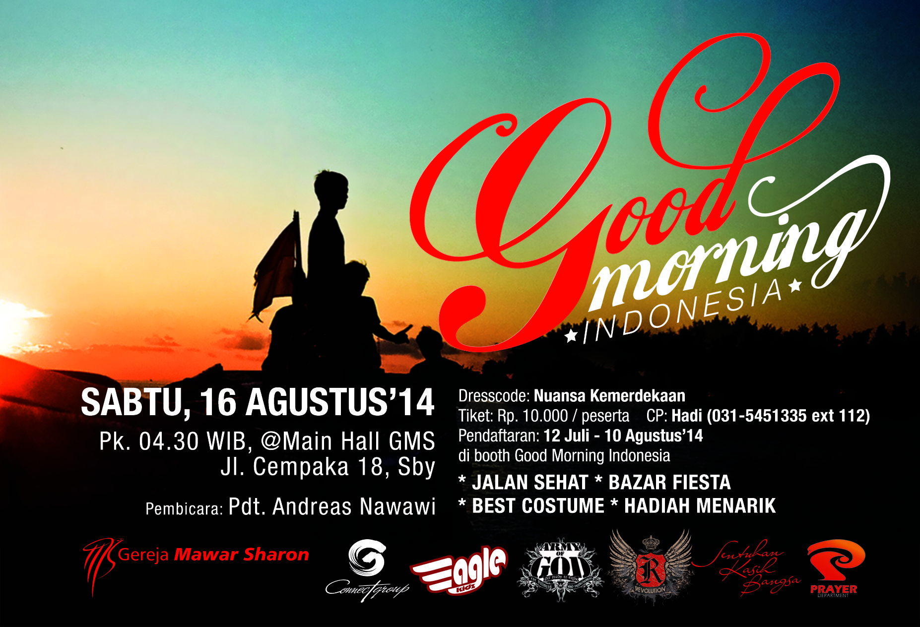 Good Morning Indonesia 16 Agustus 2014 Indonesia Gereja