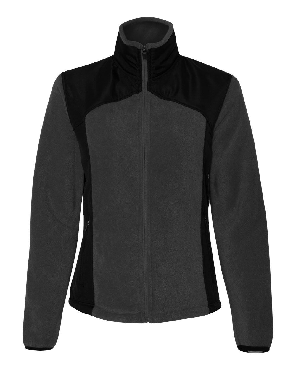 Colorado Clothing - Ladies' Telluride Nylon/Polarfleece Jacket - 7116 Charcoal/_black