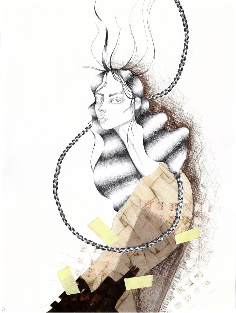 Fashion Illustration Mira Illustration Mode Illustration Und