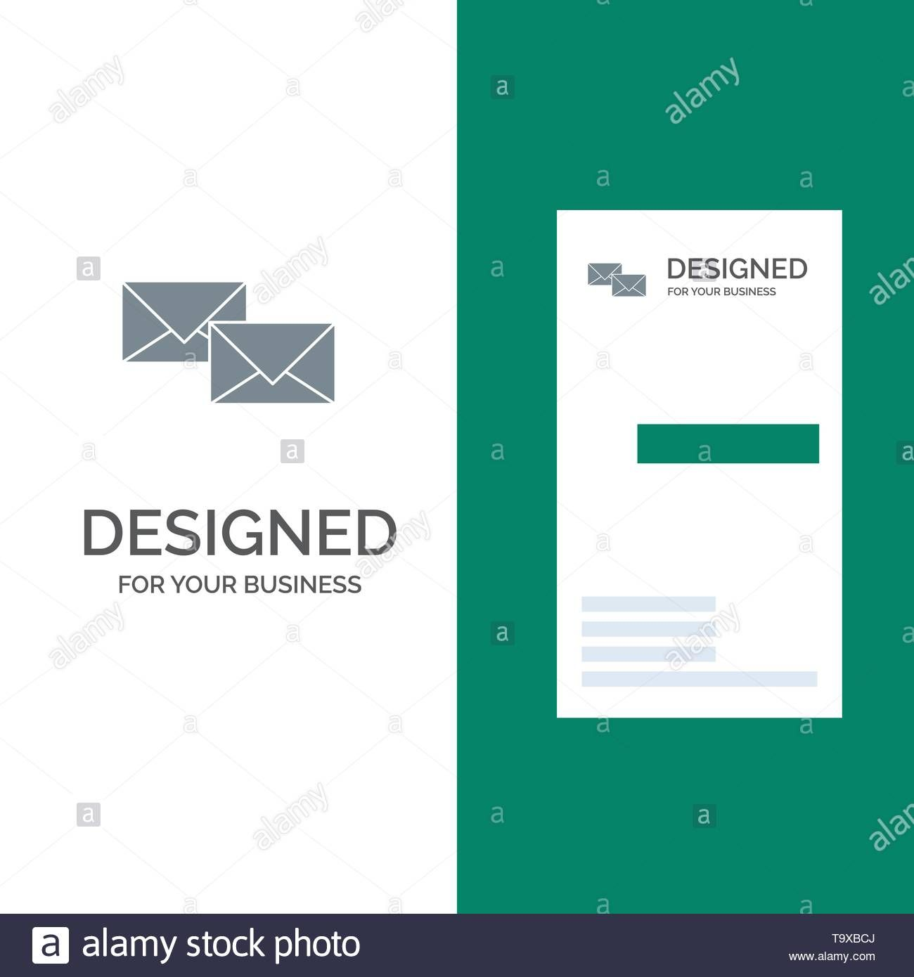 Mail Reply Forward Business Correspondence Letter Grey Regarding Business Reply Mail Template Bes Mail Template Professional Templates Business Template