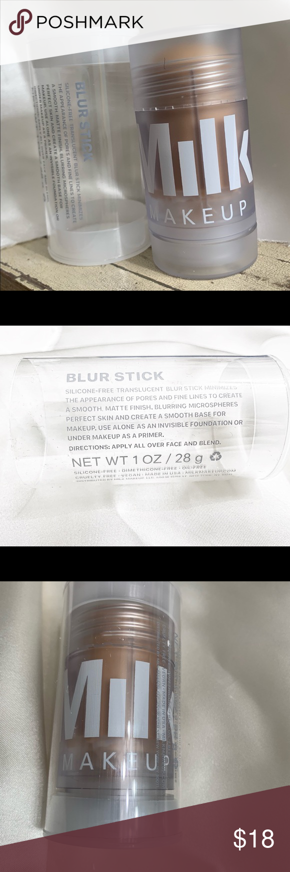 Milk Blur Stick Matte Blurring Primer Full Size Boutique