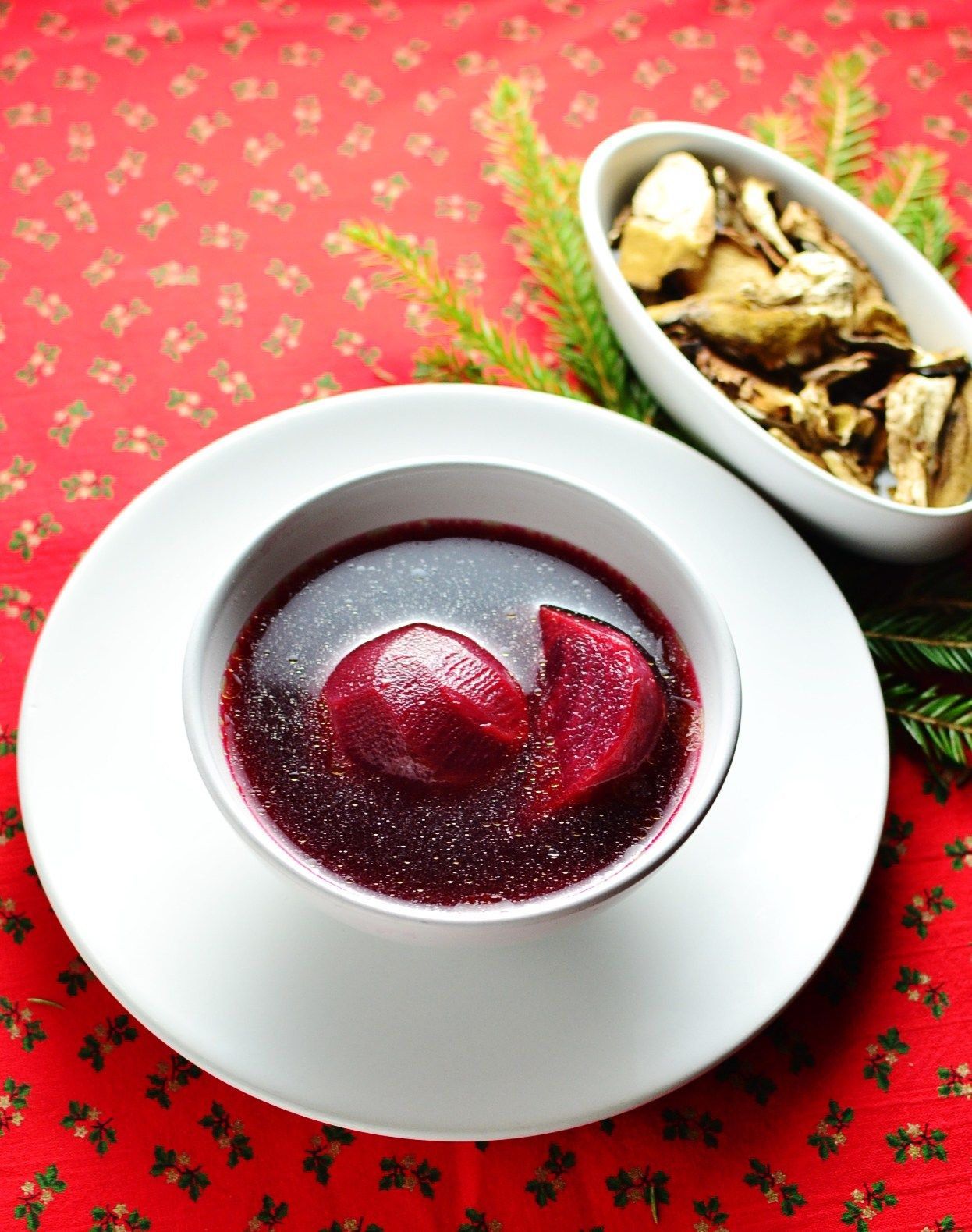 Polish christmas eve borscht 9oking pinterest borscht this traditional vegetarian polish christmas eve borscht recipe is simple to prepare and best served with porcini dumplings forumfinder Images
