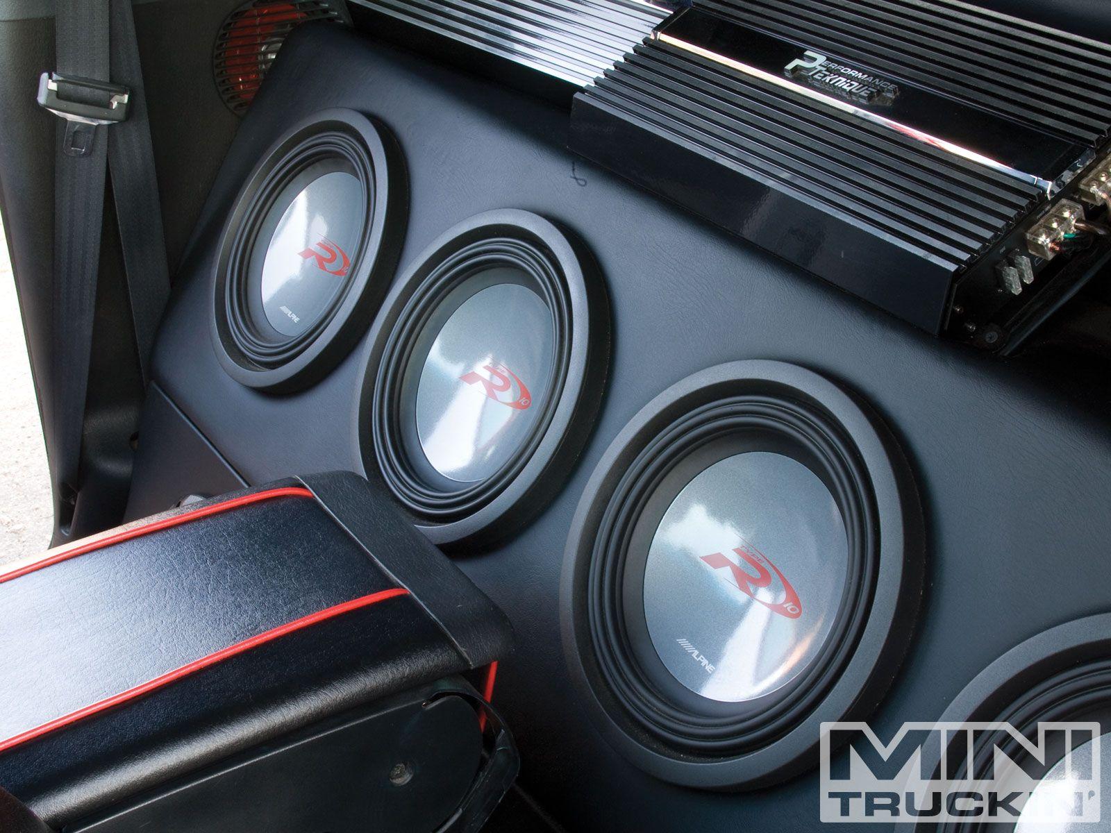 3 12 alpine type rs car audio sound system car car