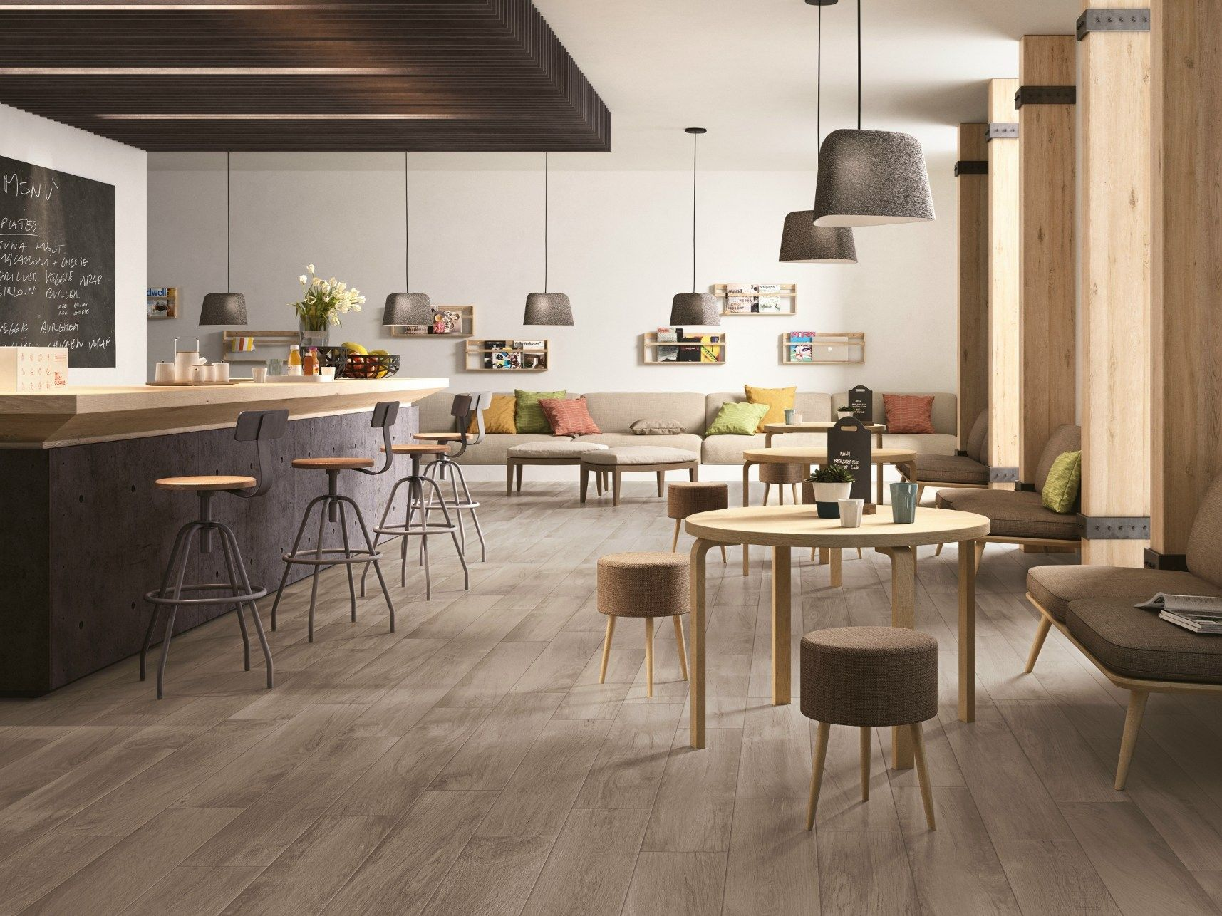 Porcelain Stoneware Flooring Woodplace By Ragno Marazzi Group - Piastrelle Ragno Harmony