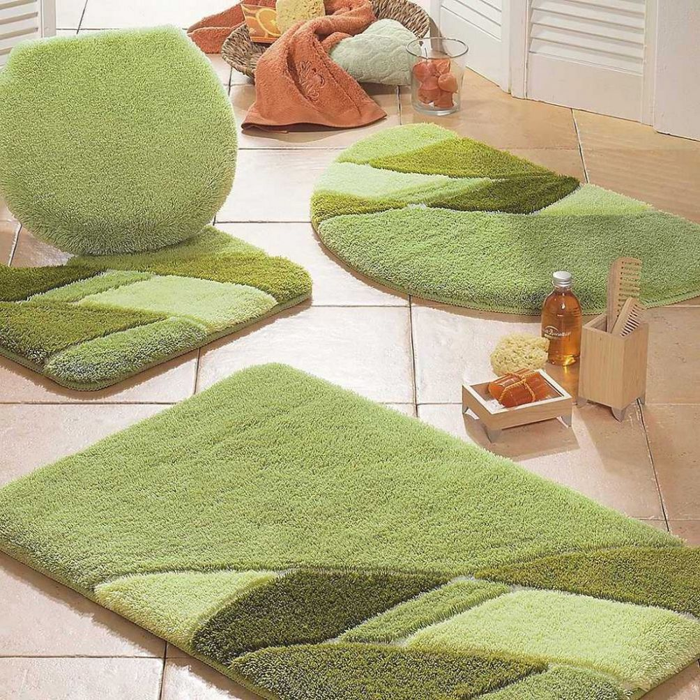 Ideas To Wash Bathroom Rug Sets Green Bath Rugs Bathroom Rug