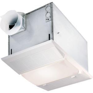 Nutone 70 Cfm Ceiling Exhaust Fan With Night Light And Heater 9965 At The Home Depot Bathroom Exhaust Fan Bathroom Fan Fan Light