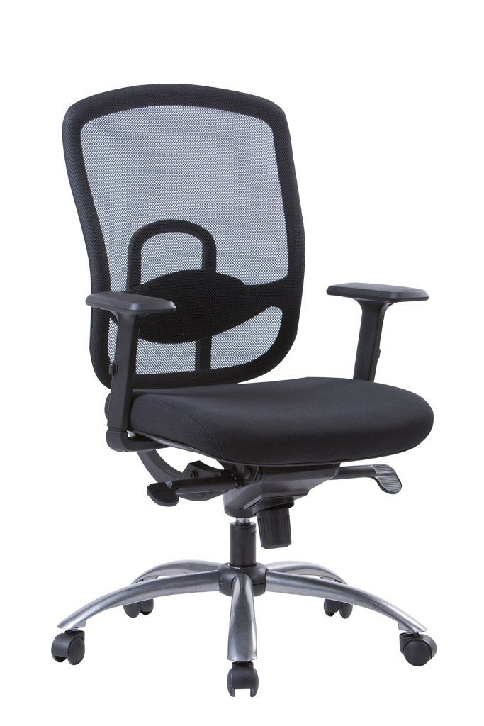 longem multifunctional mid back mesh office chair breathable