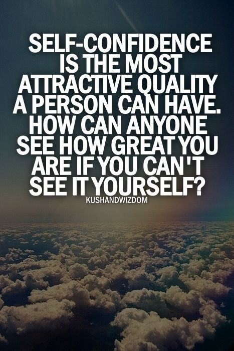 Confidence Quotes Amazing Selfconfidence Is The Most Attractive Quality A Person Can Have