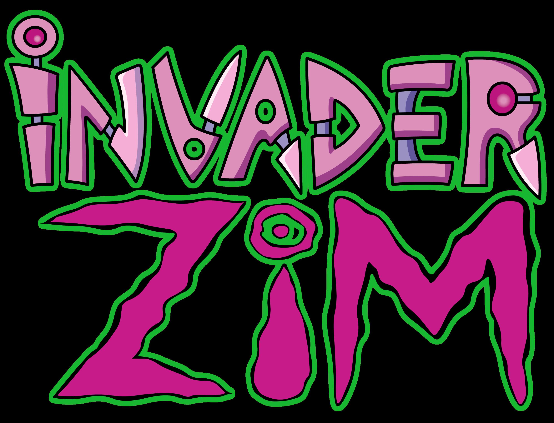 Invader Zim Logo By Jax89man On Deviantart Invader Zim Tv Show Logos Cool Cartoons