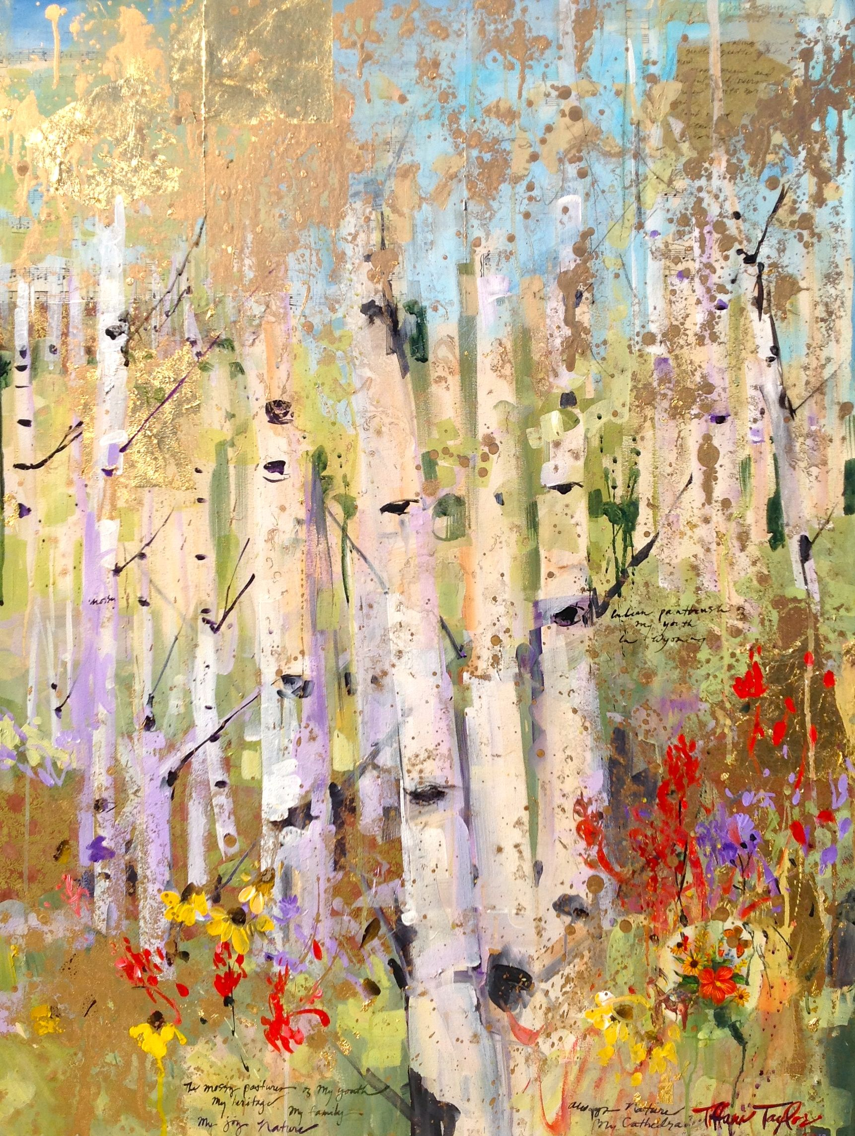 Spring, Nature: My Cathedral — Tiffani Taylor Gallery Seriously so ...
