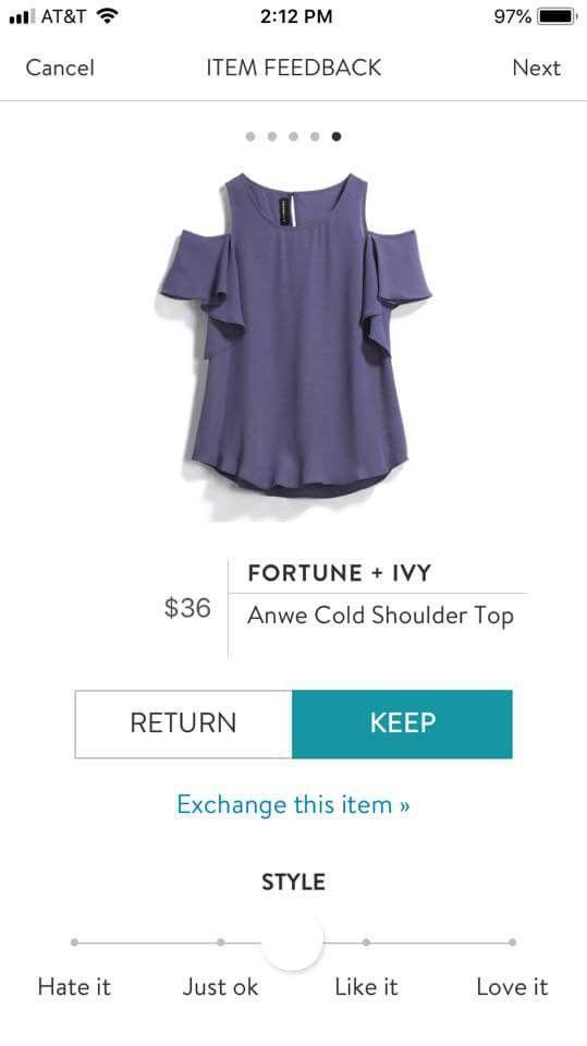 fe7fc4f46df Pin by Stay at Home Girl on July - Stitch Fix Screenshot Pins | Tops,  Fashion, Stitch