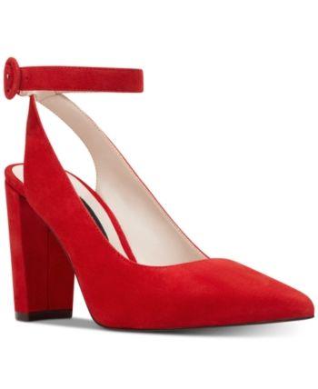 3bd0fc00dae Nine West Mokosk Ankle-Strap Pumps Women Shoes in 2019