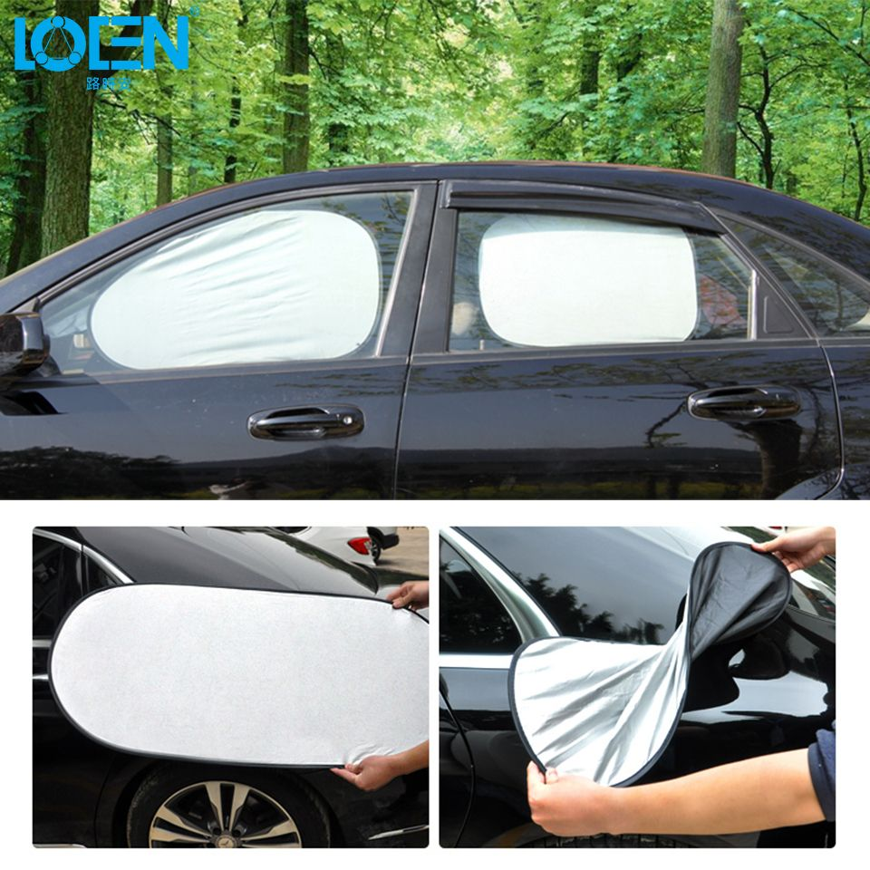 car window sunshades twin pack