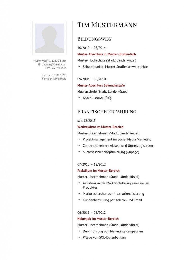Lebenslauf Muster Design 23 Vorlagen Lebenslauf Lebenslauf Lebenslauf Muster