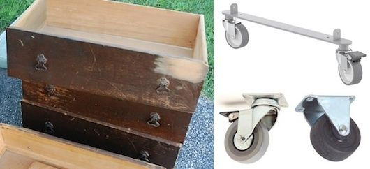Under The Bed Storage On Wheels Use Old Dresser Drawer And Wheels To Make Under Bed Storage  Diy