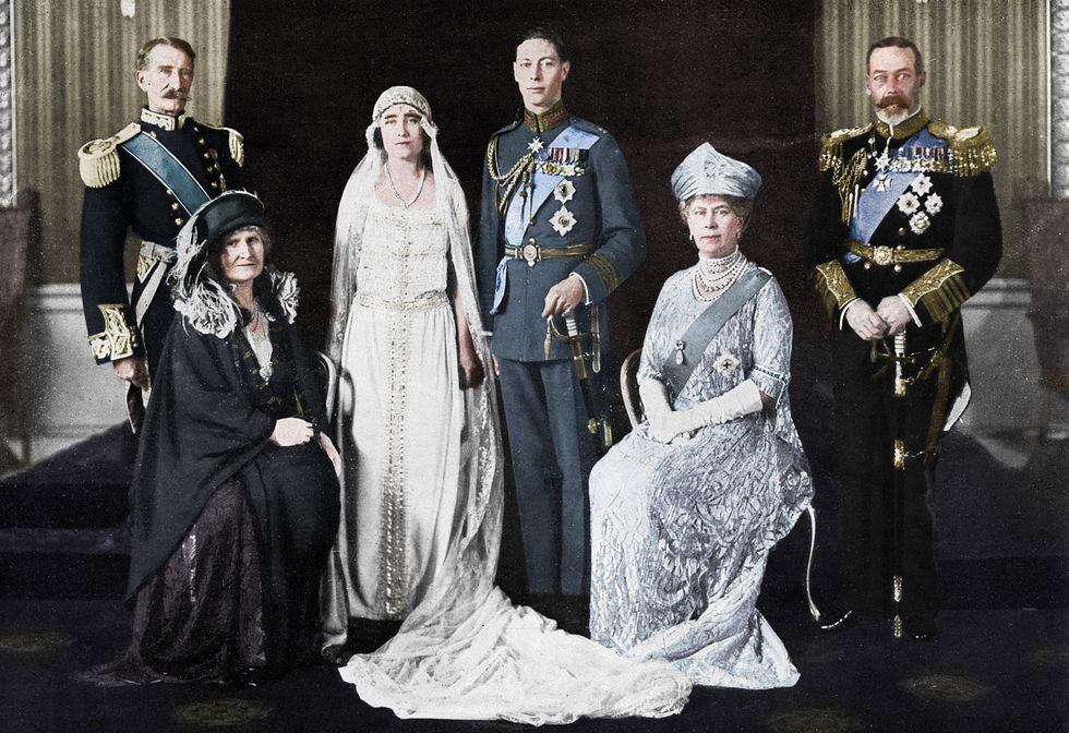The Most Important Royal Weddings In History Royal Weddings Lady Elizabeth Royal Wedding Dress