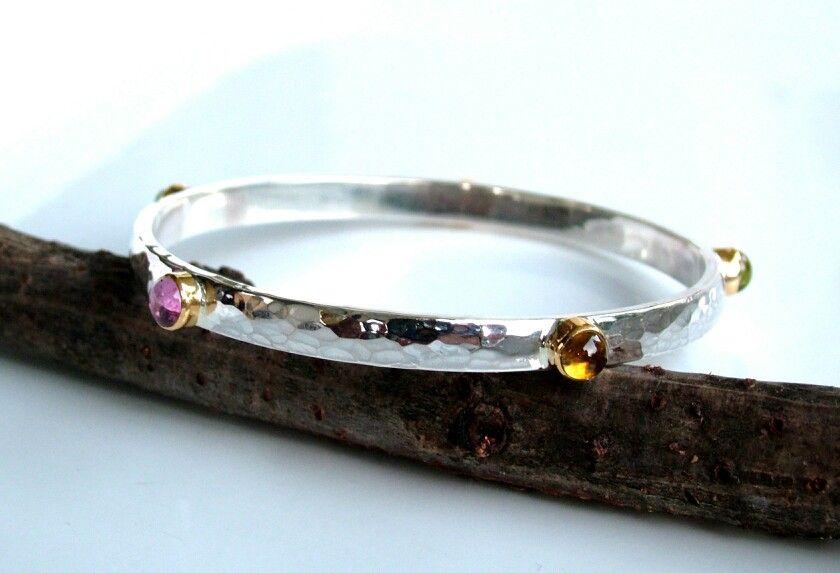 Rainbow Mandala Bracelet Colorfull Glass Boho Jewelry Anniversary Gift Gifts for HER Bridesmaid Gift