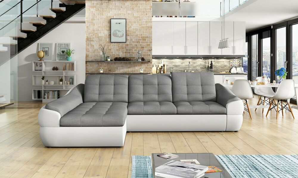 Couchgarnitur Infinity Mini L Sofa Mit Schlaffunktion Couch Polsterecke Ecksofa Ebay Furniture Sleeper Sectional Faux Leather Sectional