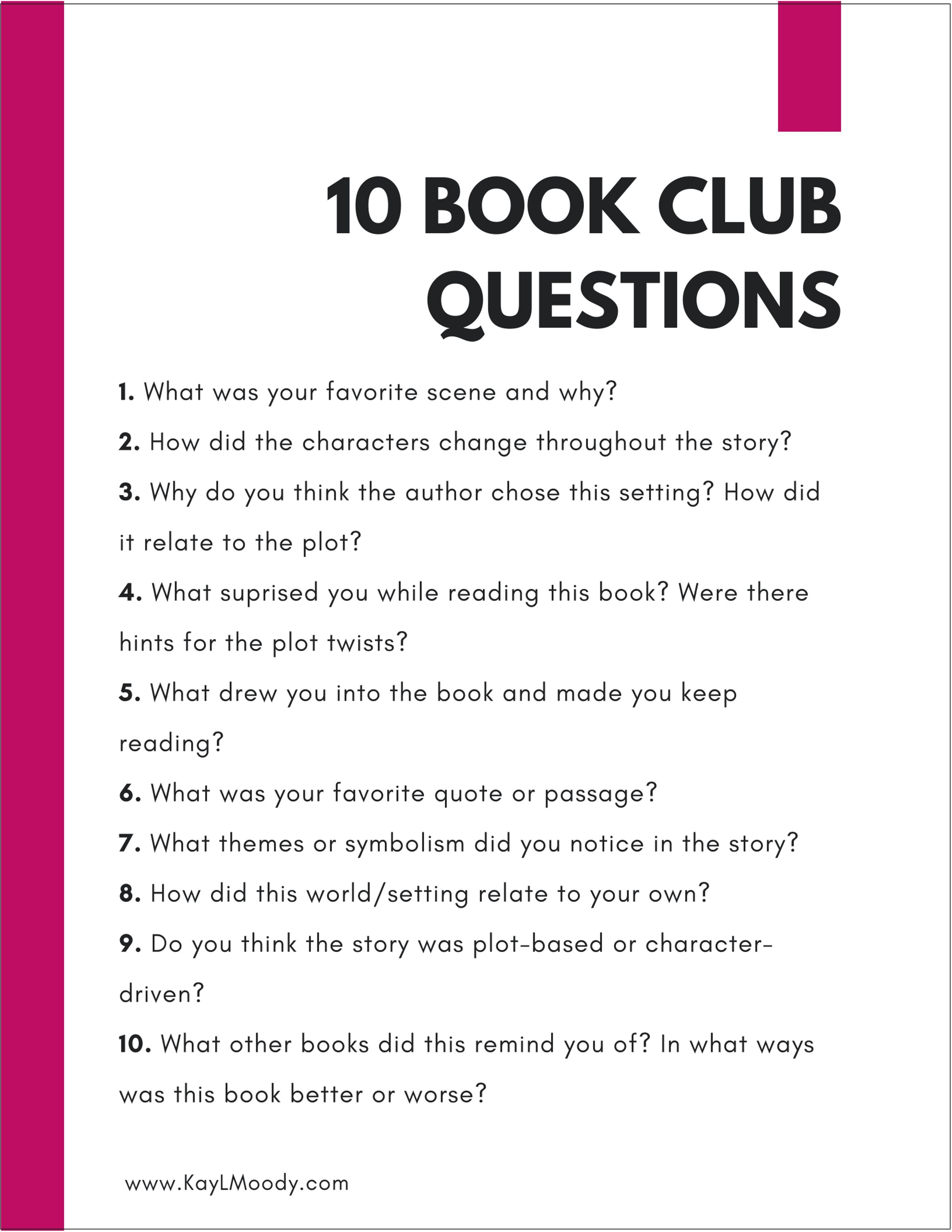 How To Improve Analytical Skills By Reading Fiction Kay L Moody Online Book Club Book Club Reads Book Club Suggestions
