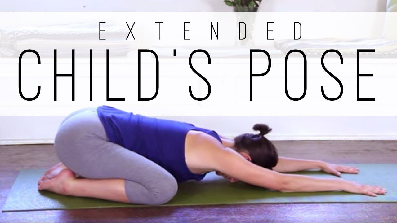 Extended Child S Pose Yoga With Adriene Kids Yoga Poses Yoga With Adriene Types Of Yoga