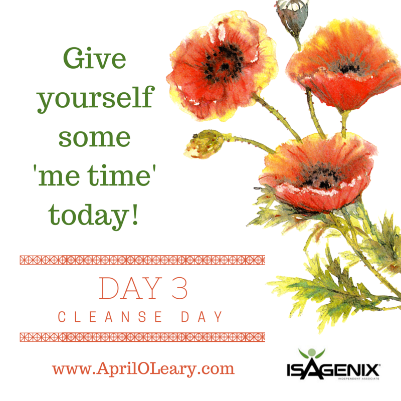 Day 3: Cleanse Day
