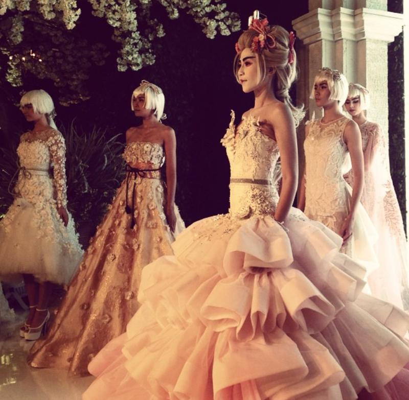 Madame Sakura Wedding Dresses Collection By Ivan Gunawan ~ Glowlicious