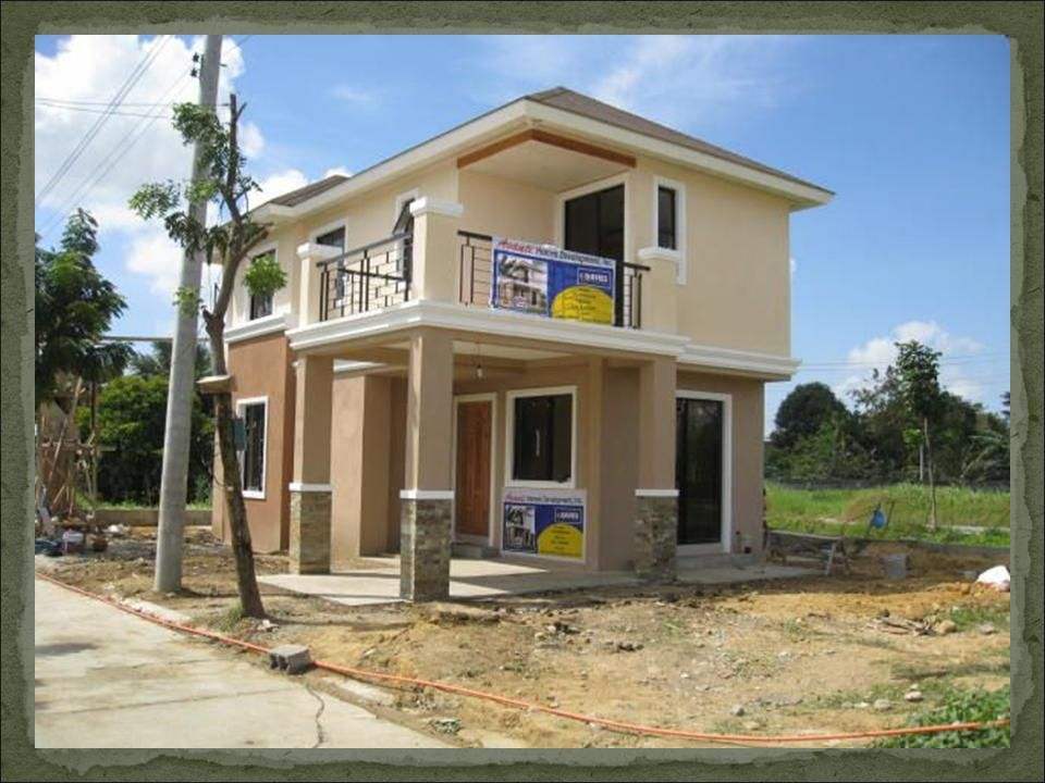 Small modern homes house design iloilo house design in for Building a 2 story house