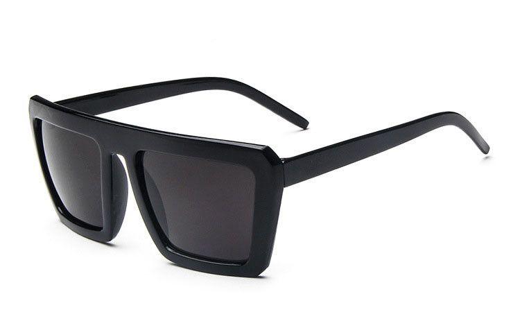 male sunglasses 2016 Simple Square Oversized Frame Mens glasses Fashion UV  Protect Sun Glasses for men 1ee9d9f4e9