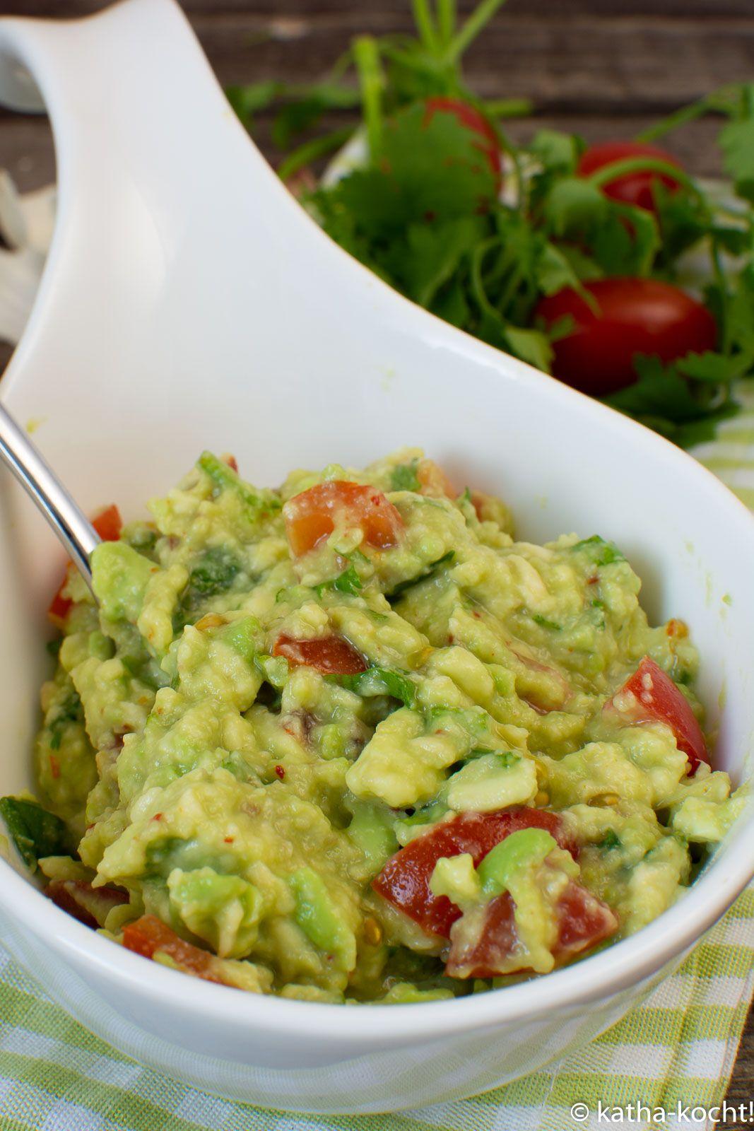 Guacamole als Dip - Katha-kocht!