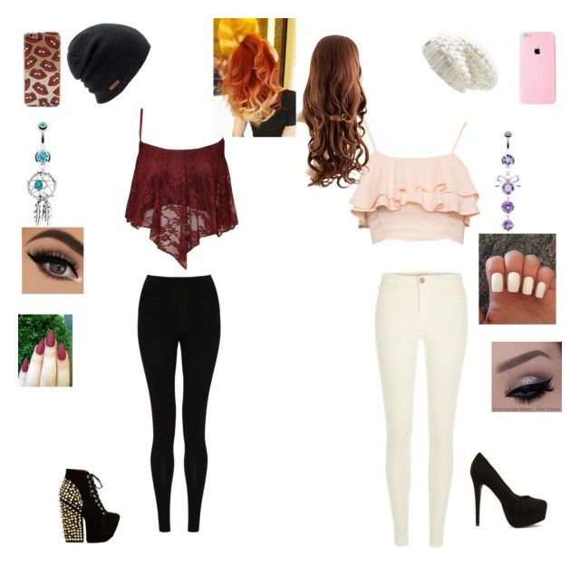 """""""night out with bestie!!"""" by thomas-patricia on Polyvore featuring beauty, M&S Collection, River Island, Jeffrey Campbell, Nly Shoes, Lolë, Coal and Bling Jewelry"""