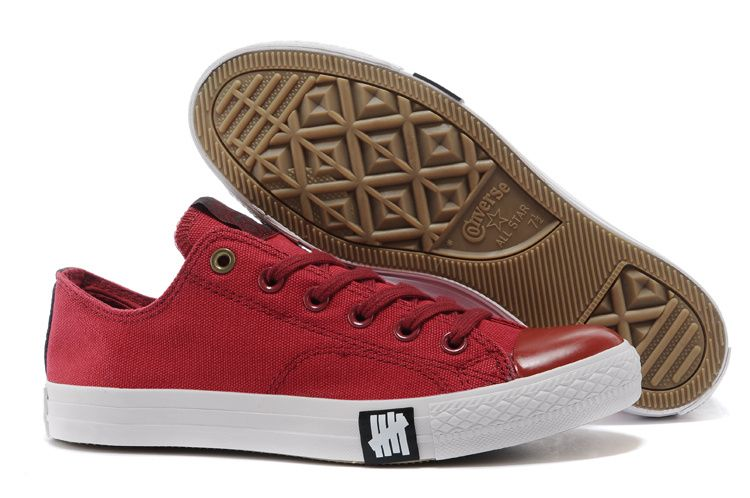 1bb9833f3b35  converse Converse Red Limited Edition Low Tops Chuck Taylor All Star II  Womens Shoes