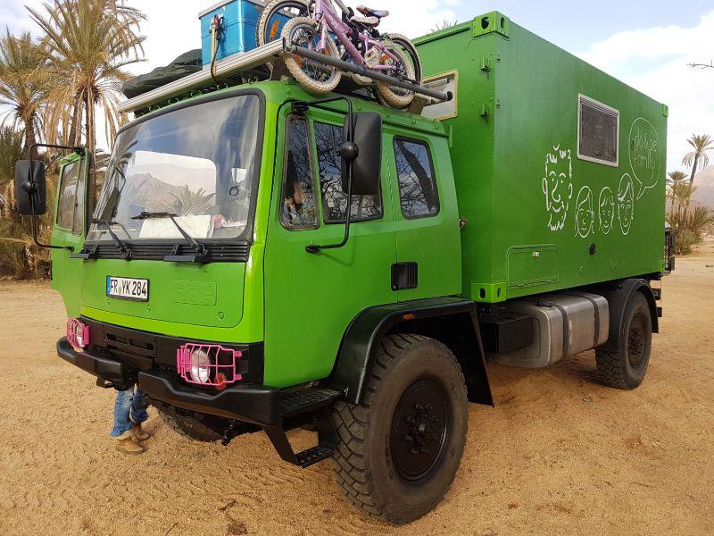 Ein Fahrzeug Fur Die Do Be Family Unser Gustav Ein Daf T 244 Von Eddie Zeiler Fernreisemobil Daf Wohnmobil Selbstausbau
