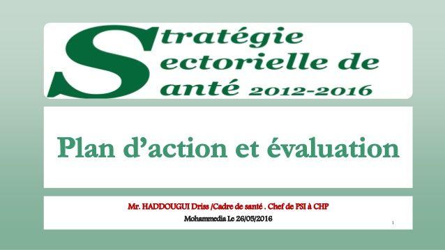 Mr. HADDOUGUI Driss /Cadre de santé . Chef de PSI à CHP Mohammedia Le 26/05/2016 1
