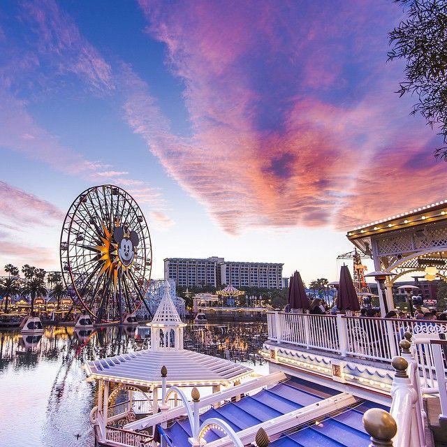 Paradise Pier at Disney's California Adventure
