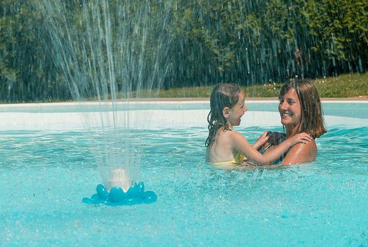 Fontaine fleur , accessoires,piscine.fr