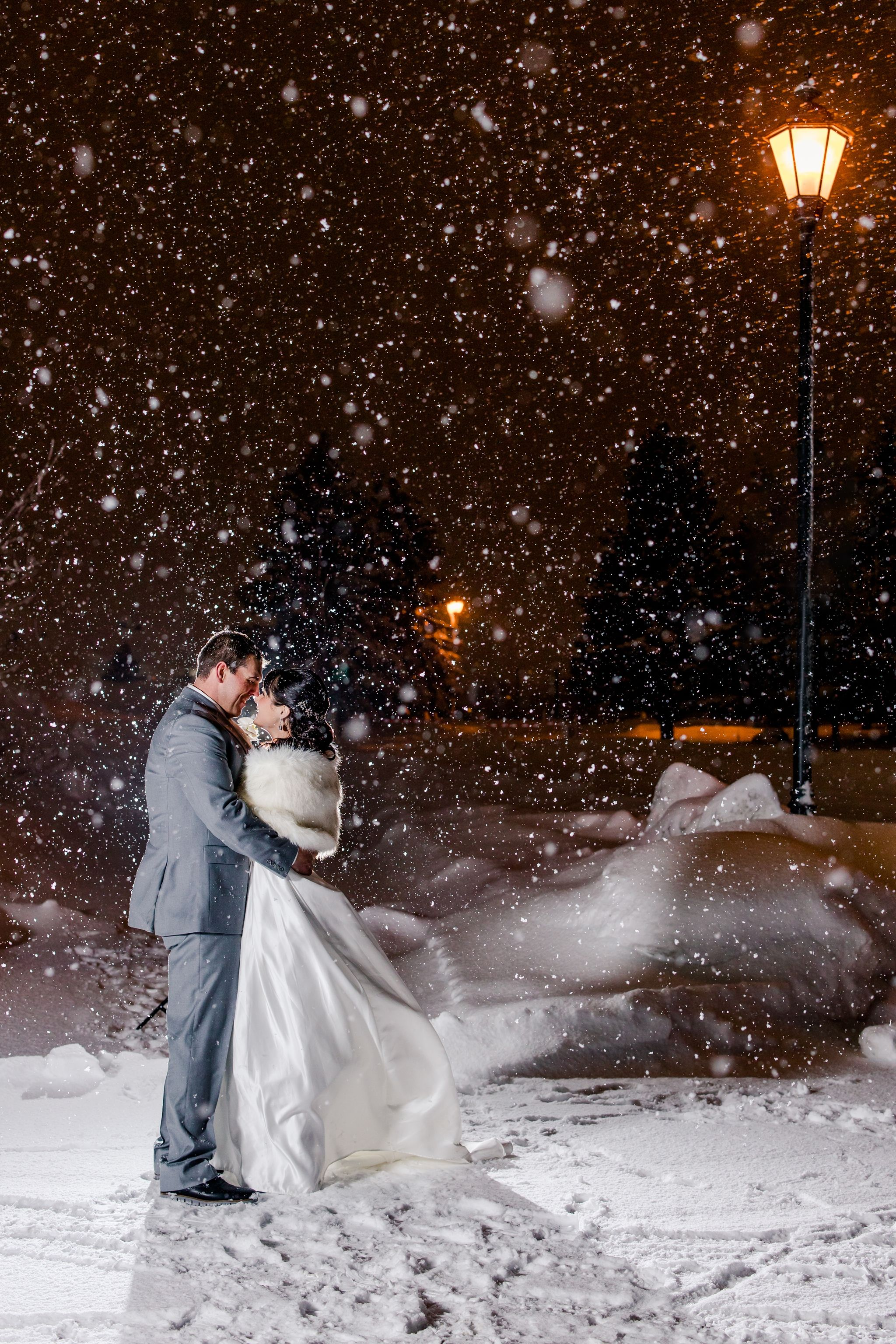 Teresa and Collin in 2020 Winter wedding, Wedding