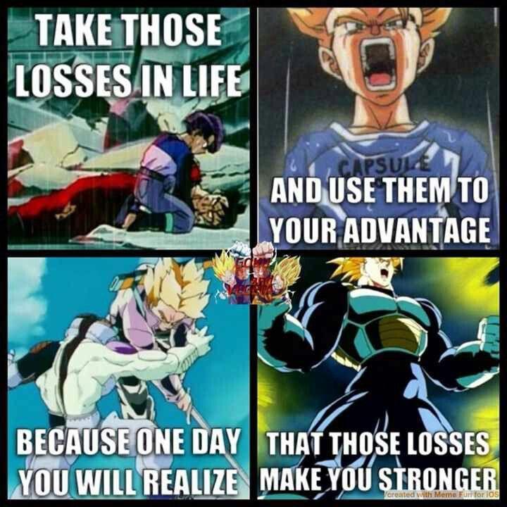 af6ddac0516 Gotta love the lessons DBZ teaches you. Dbz Memes