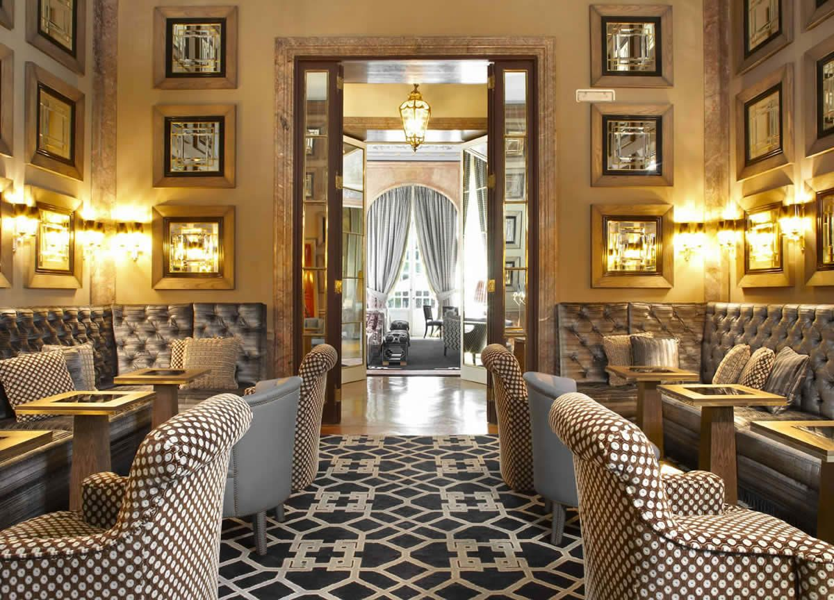 Salon chivas in santo mauro hotel by lorenzo castillo for Hotel design madrid