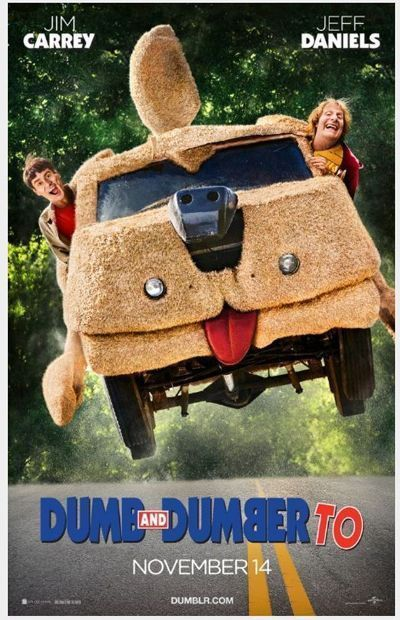 Dumb And Dumber To 2014 Orig 2 Sided 27x40 Advance Movie Poster Jim Carrey Dumb And Dumber Comedy Movies Funny Movies