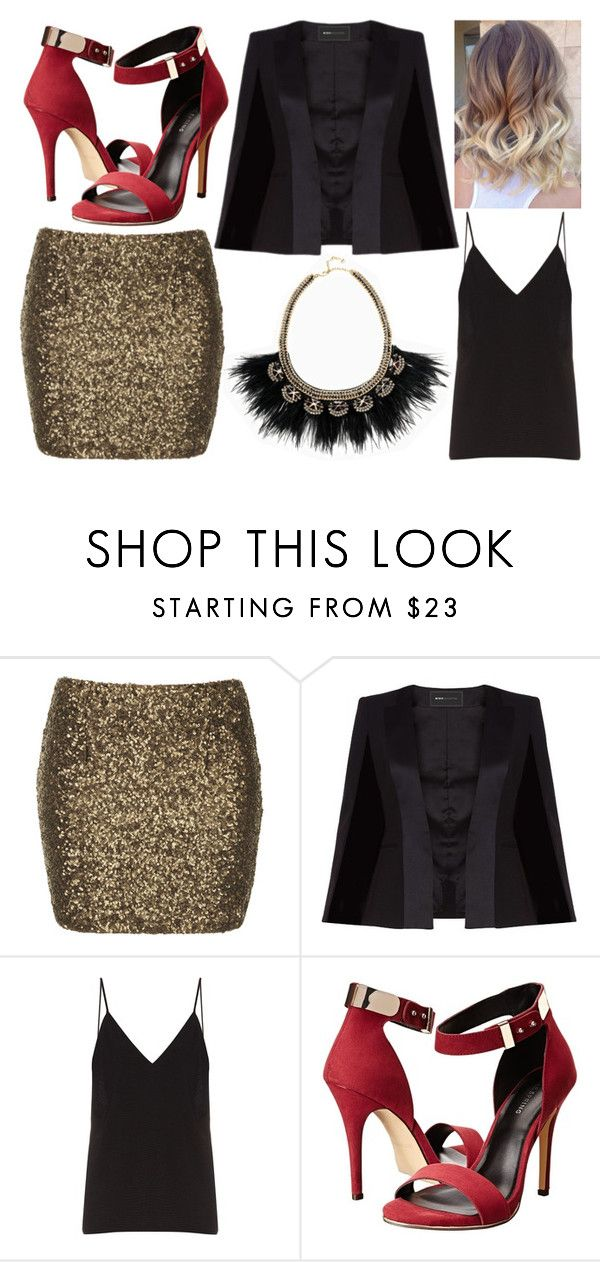"""""""#239"""" by vanessa-m-108 ❤ liked on Polyvore featuring Goldie, BCBGMAXAZRIA, Raey, Call it SPRING and Stella & Dot"""